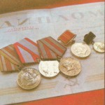 Из одного металла льют медали за бои, медали за труд