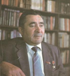 Председатель колхоза М.М. Галиев
