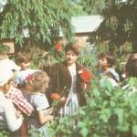 В школьном саду